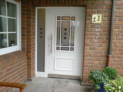 Haustüren weiß landhausstil  Haustüren